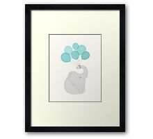 cheers, elephant Framed Print