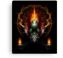Riddian Queen Of Fire Canvas Print