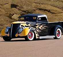 1937 Ford Pickup 'Truck'n Fifties Style' by DaveKoontz