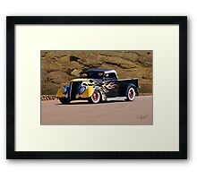 1937 Ford Pickup 'Truck'n Fifties Style' Framed Print