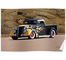 1937 Ford Pickup 'Truck'n Fifties Style' Poster