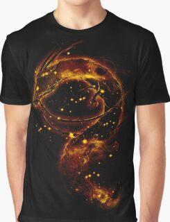haku nebula -orange version Graphic T-Shirt