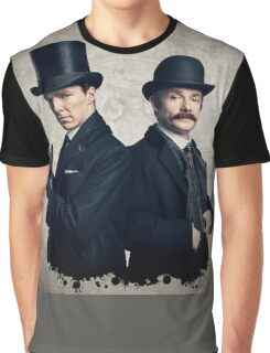 Sherlock - Benedict Cumberbatch Graphic T-Shirt