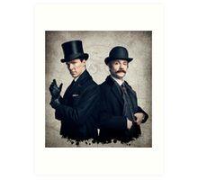 Sherlock - Benedict Cumberbatch Art Print