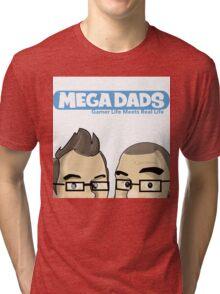 Mega Dads: Peek A Boo Tri-blend T-Shirt