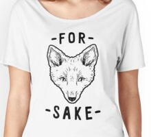 For Fox's Sake Women's Relaxed Fit T-Shirt