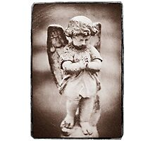 """ Little Angel please say a prayer for me "" Photographic Print"