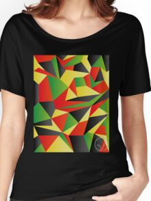 Polygon Crazy  Women's Relaxed Fit T-Shirt