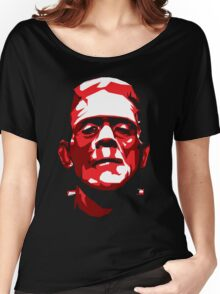 Frankenstein - Vector Women's Relaxed Fit T-Shirt