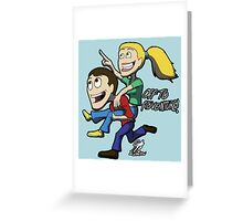 Off To Adventure Greeting Card