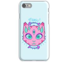 Triclops Kitty  iPhone Case/Skin
