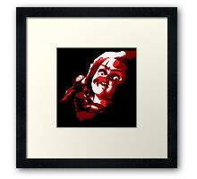Chucky - Vector Framed Print