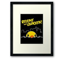 Release The Quacken LA Framed Print
