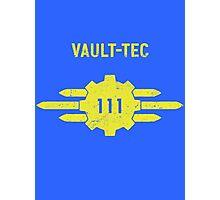 Vault-Tec Vault 111 Photographic Print