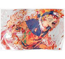 Kurama's chakra Poster