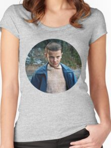 Stranger Things- 11 Women's Fitted Scoop T-Shirt