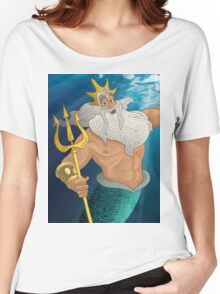King Triton Women's Relaxed Fit T-Shirt