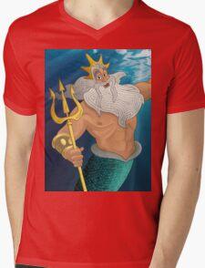 King Triton Mens V-Neck T-Shirt