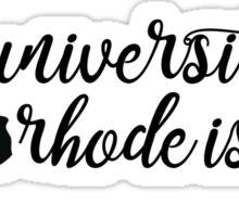 University of Rhode Island - Style 5 Sticker