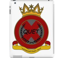 Quet Crest iPad Case/Skin