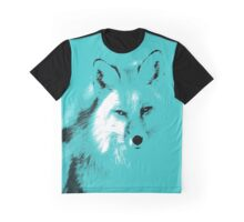 The Turquoise Fox Graphic T-Shirt