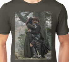 Jamie & Claire - Parting at Craig Na Dun Unisex T-Shirt