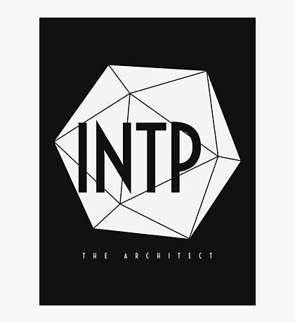 INTP The Architect - MBTI Type T-shirt / Phone case / Mug / More Photographic Print