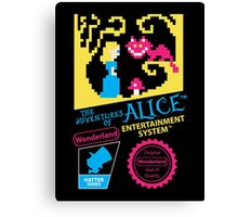 The Adventures of Alice Canvas Print