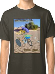 BICYCLE RACING; Yibbitzville Dessert Classic Print Classic T-Shirt