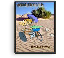 BICYCLE RACING; Yibbitzville Dessert Classic Print Canvas Print