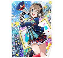 Initial You Watanabe (Idolized) Poster