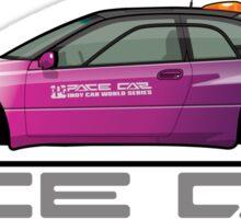 Subaru Alcyone SVX ICWS Pace Car / Safety Car Sticker