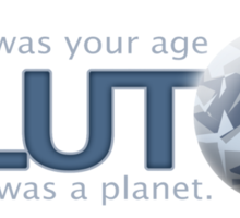 When I was your age - Pluto was a planet Sticker