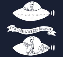 The Truth Inside Alien Technology by John Holdway