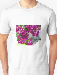Crab Apple Blossoms Unisex T-Shirt