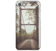 The Wooden Bridge iPhone Case/Skin