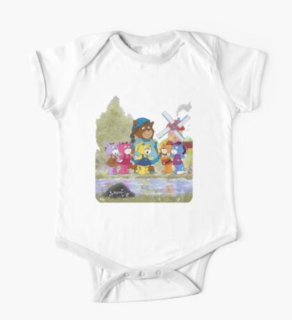 Boomi Cats One Piece - Short Sleeve