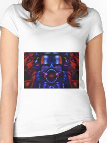 My Robot Destroyed The World Women's Fitted Scoop T-Shirt