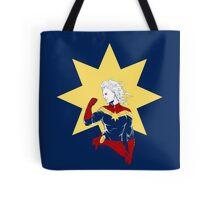 Captain Marvel Tote Bag