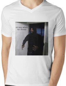 Oh boy whats for dinner Mens V-Neck T-Shirt