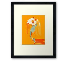 Hercules in the City Framed Print