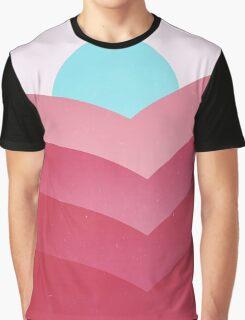 Rose Gold Hills Graphic T-Shirt