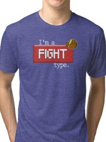Fight type - PKMN Tri-blend T-Shirt