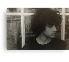 Sad Boy Canvas Print