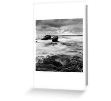 Tidal Rush Greeting Card