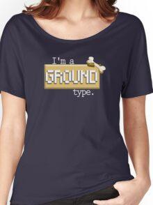 Ground Type - PKMN Women's Relaxed Fit T-Shirt