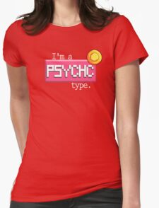 Psychic type - PKMN Womens Fitted T-Shirt