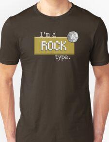 Rock type - PKMN Unisex T-Shirt