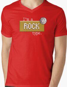 Rock type - PKMN Mens V-Neck T-Shirt