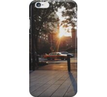 Sunrise drive by iPhone Case/Skin